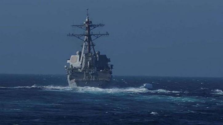 জাপান সাগরে রুশ নৌবাহিনীর তাড়া খেয়ে 'পালাল' মার্কিন যুদ্ধজাহাজ