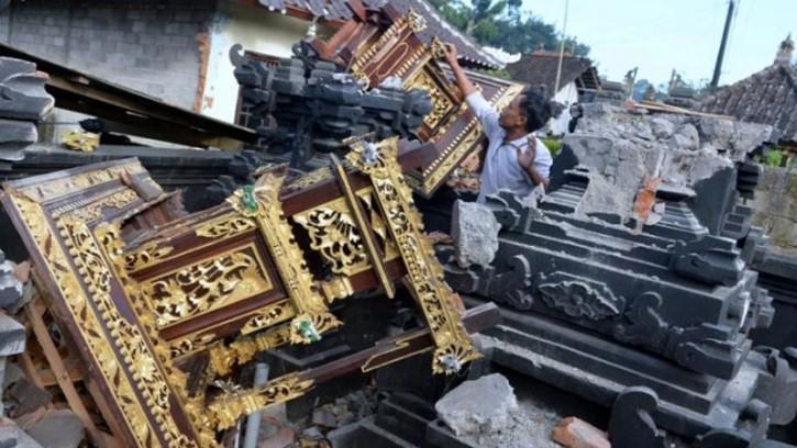 ভূমিকম্পে কেঁপে উঠল ইন্দোনেশিয়ার বালি, তিনজনের প্রাণহানি