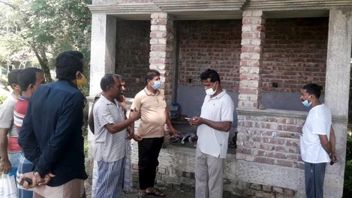 চিতলমারীতে কালী মন্দিরে প্রতিমা ভাংচুর