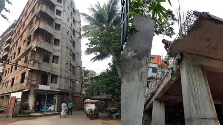 টঙ্গীতে ভুয়া প্ল্যান ও নিয়ম বহিভূত বহুতল ভবন নির্মিতব্য হচ্ছে, প্রতিবেশিরা আতংকে