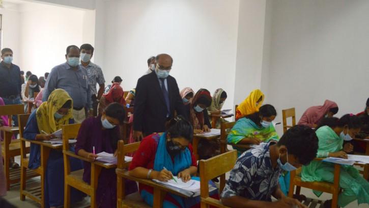 জিএসটি পরীক্ষায় অসদুপায় অবলম্বন করায় হাবিপ্রবিতে আটক ১ পরীক্ষার্থী