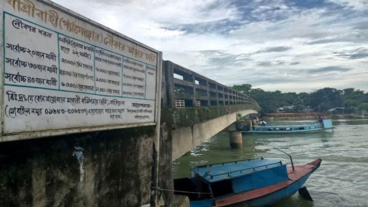 তাহিরপুরে চারটি সেতু নৌ-চালকদের গলার কাটা