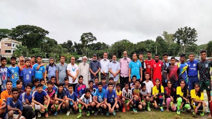 ঝিকরগাছায় অনূর্ধ্ব-১৫ ফুটবল খেলোয়াড় বাছাই শুরু
