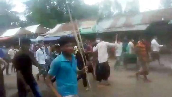 শ্রীবরদীতে ভ্রাম্যমাণ আদালতের ওপর হামলা, ১২১ জনের বিরুদ্ধে মামলা