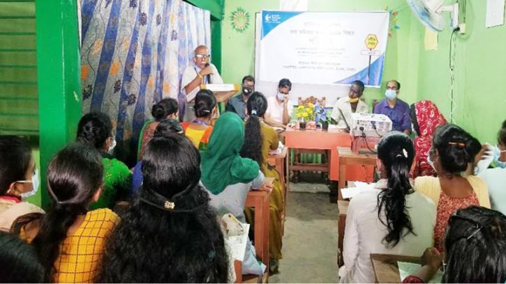 শ্রীমঙ্গল কালিঘাট চা বাগানের কোভিড-১৯ টিকা নিবন্ধন ক্যাম্পেইন ও তথ্য অধিকার ২০০৯ এর পরিচিতি সভা অনুষ্ঠিত