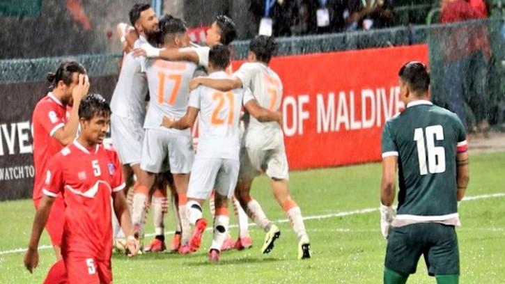 নেপালকে ৩-০ হারিয়ে সাফ চ্যাম্পিয়ন ভারত