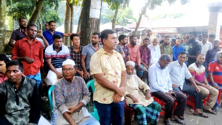 মাইজপাড়ার সাবেক ইউপি চেয়ারম্যানের নির্বাচন না করার ঘোষণা